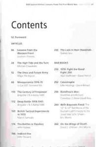 BAR Contents