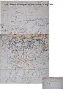 18 Infantry Division Artillery 1 July Reduced