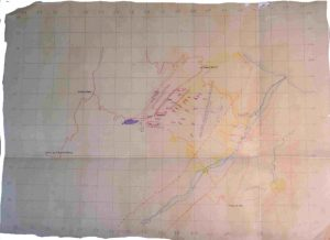 sangro barrage map